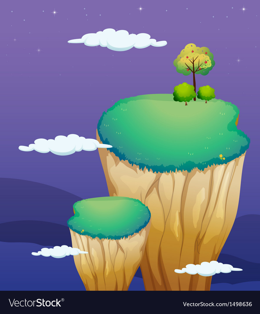 A very high land formation vector | Price: 1 Credit (USD $1)