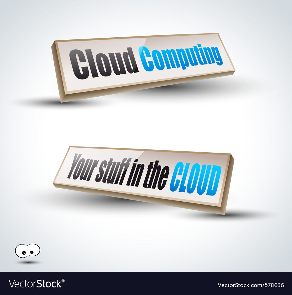 Clouds computing 3d vector   Price: 1 Credit (USD $1)