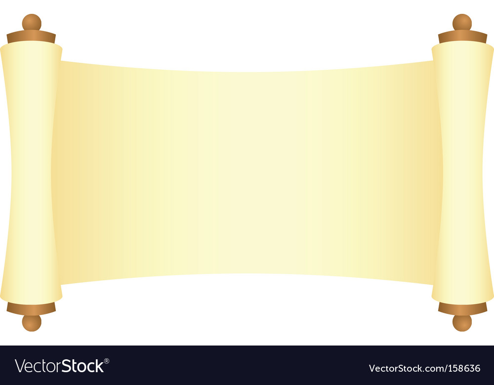 Scroll vector | Price: 1 Credit (USD $1)