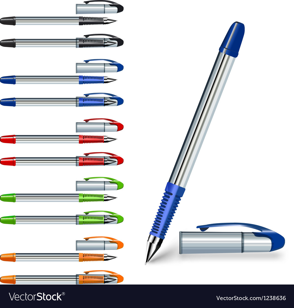 Writing pen vector | Price: 1 Credit (USD $1)