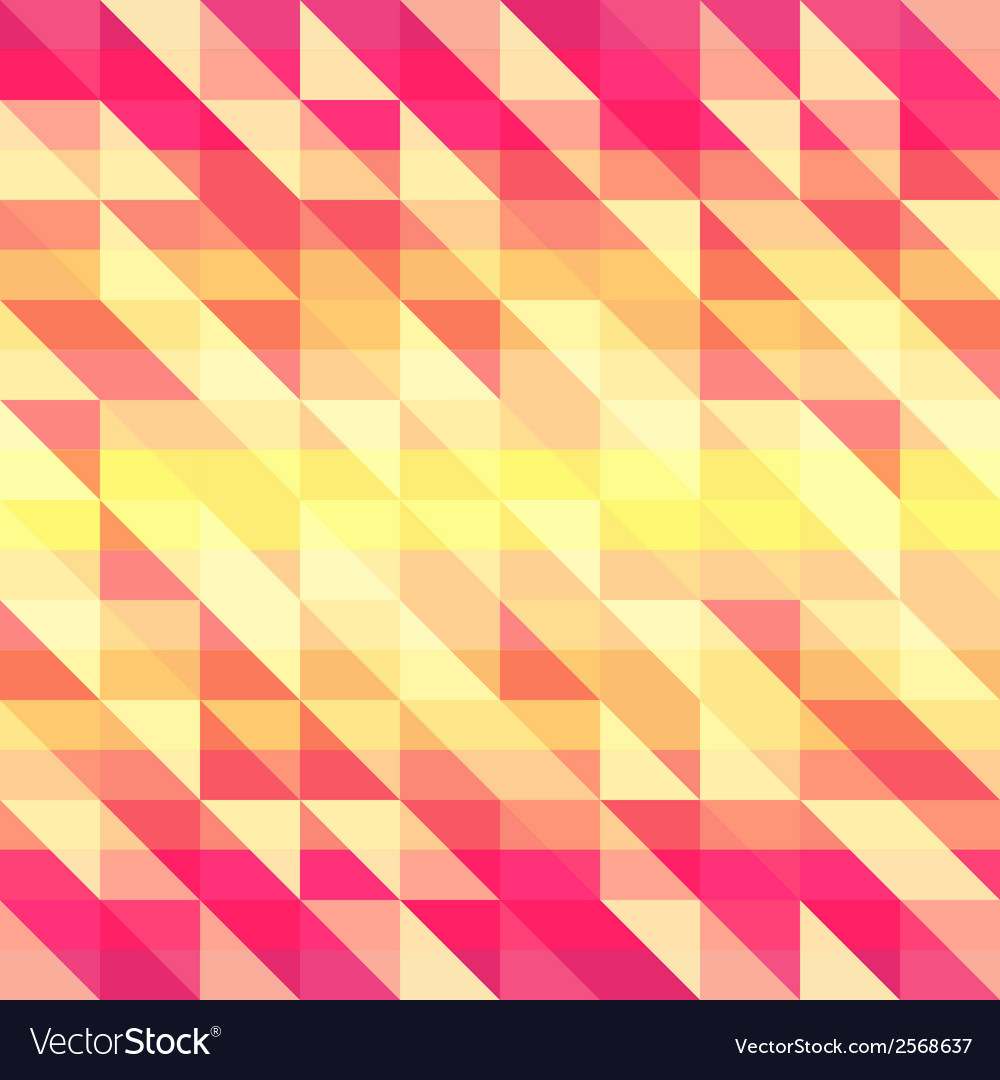 Colorful geometric retro pattern for your design vector | Price: 1 Credit (USD $1)
