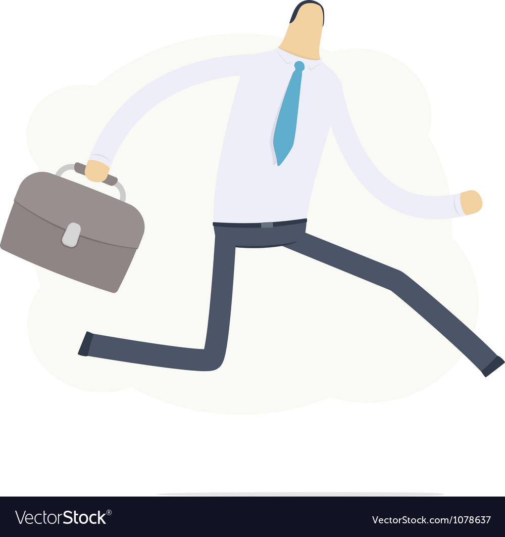Manager run on the job vector | Price: 3 Credit (USD $3)