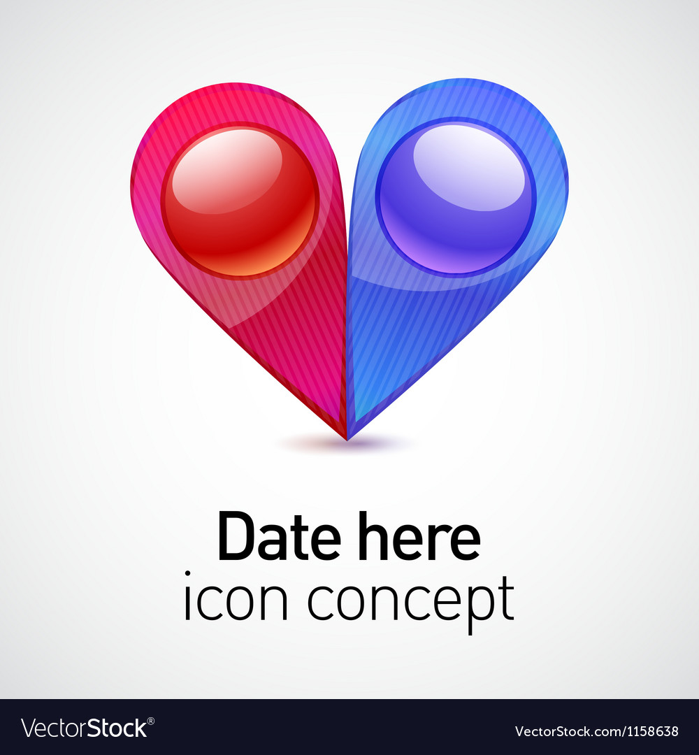 Date icon concept vector | Price: 1 Credit (USD $1)