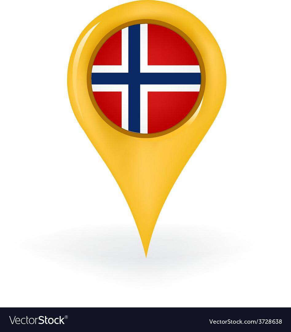Location norway vector | Price: 1 Credit (USD $1)