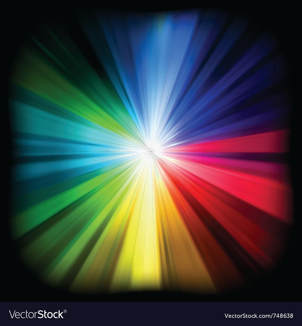 Multicolor burst vector | Price: 1 Credit (USD $1)