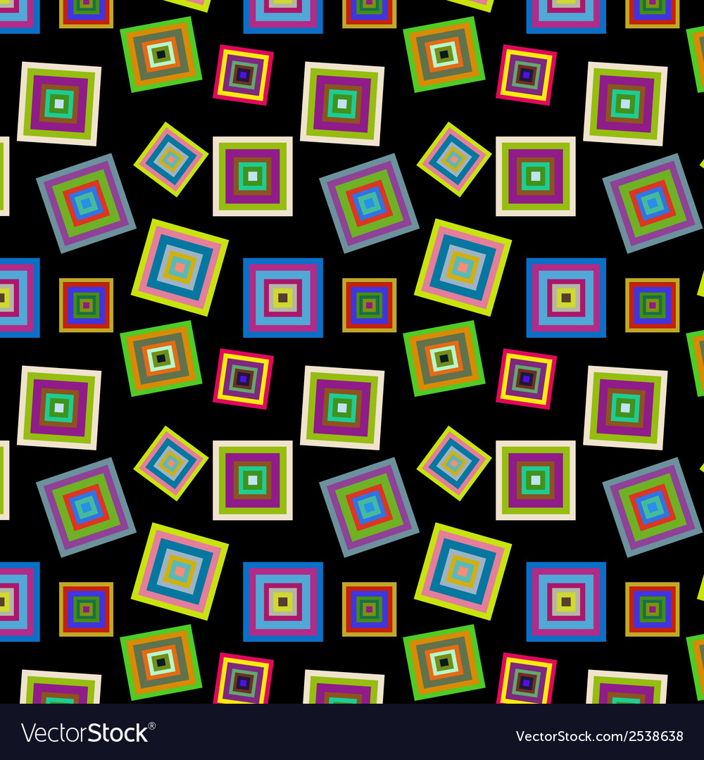 Square colorful pattern vector | Price: 1 Credit (USD $1)