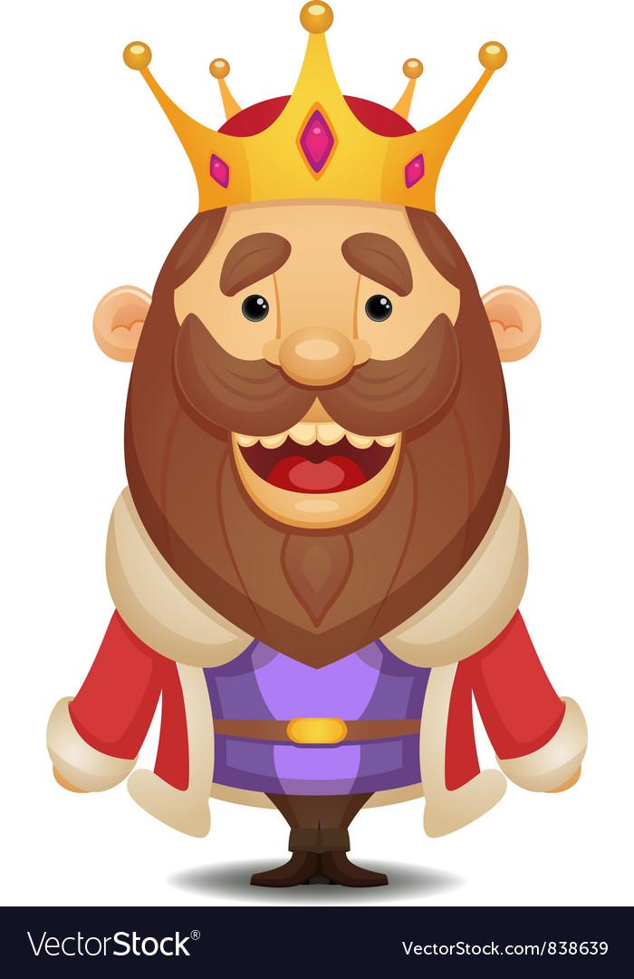 Cartoon king vector | Price: 3 Credit (USD $3)