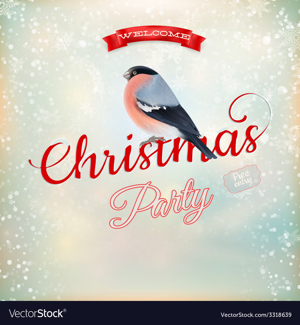 Christmas party poster eps 10 vector   Price: 3 Credit (USD $3)