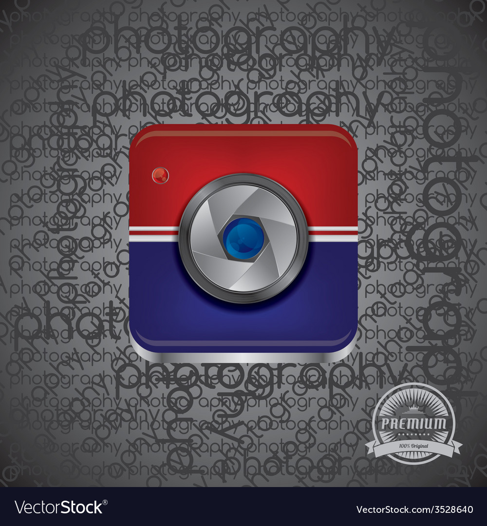 Camera photo and video interface vector | Price: 1 Credit (USD $1)