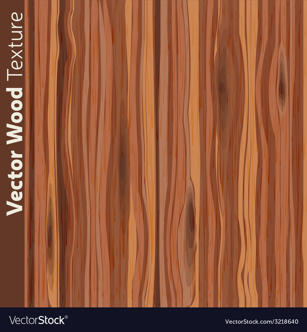 Wood grain textured background pattern vector | Price: 1 Credit (USD $1)