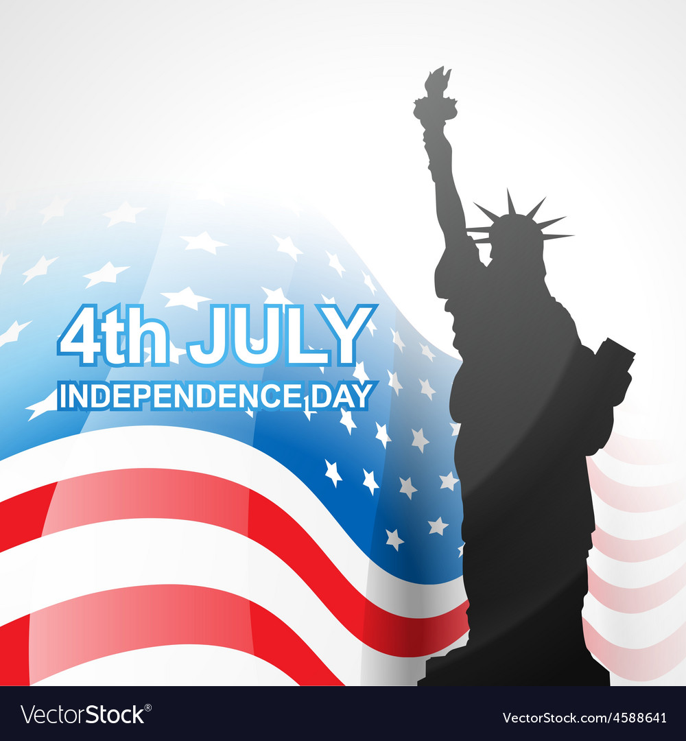 America flag vector | Price: 1 Credit (USD $1)