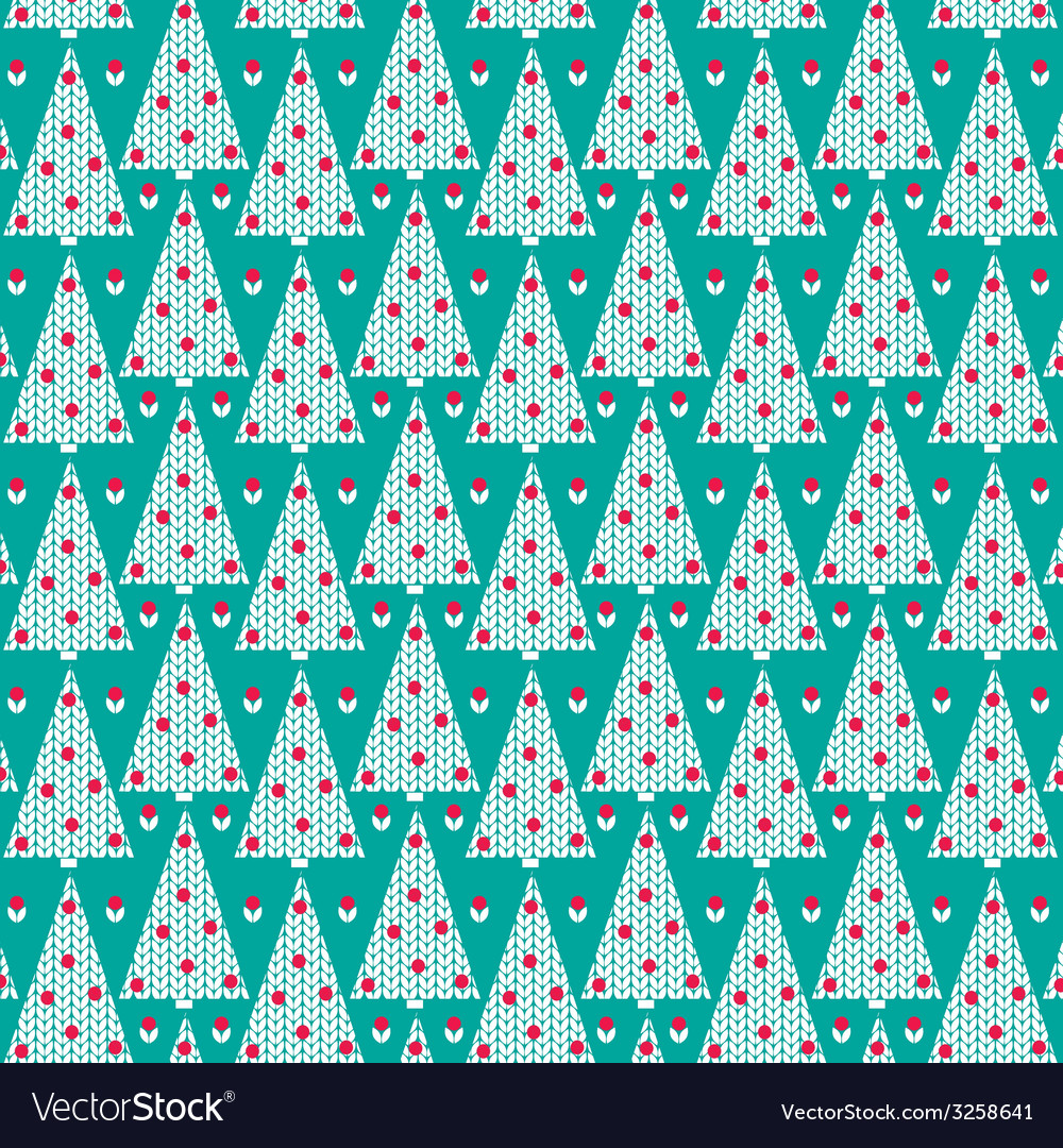 Knit trees vector   Price: 1 Credit (USD $1)