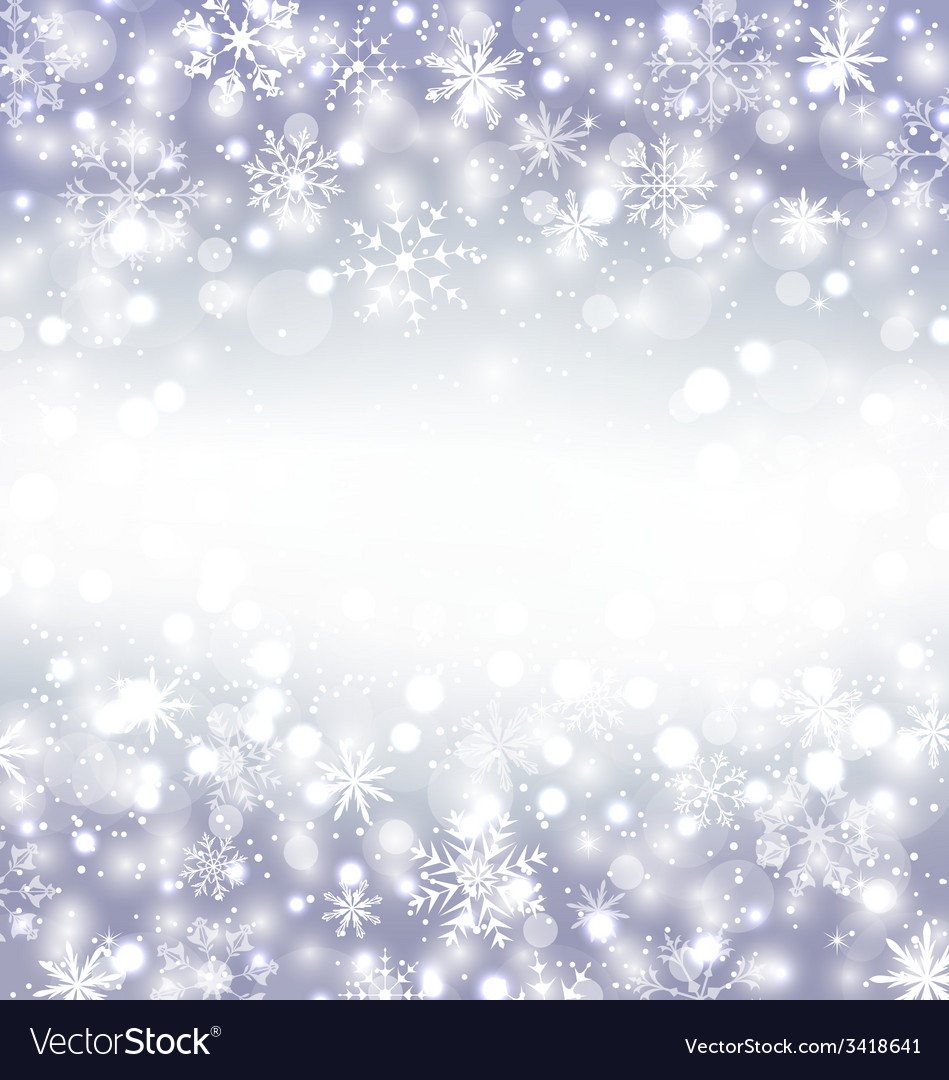 Navidad purple background with snowflakes and copy vector | Price: 1 Credit (USD $1)