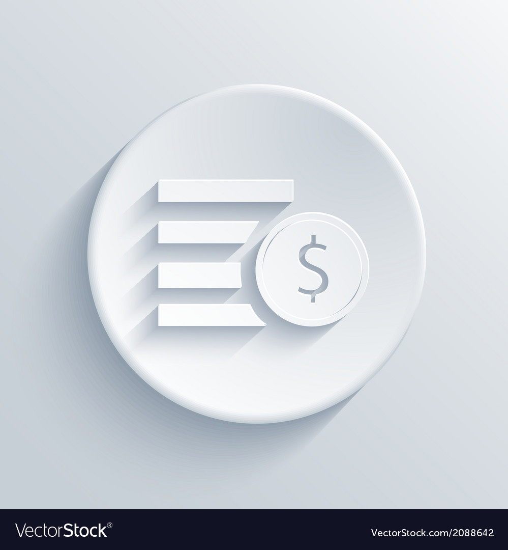 Light circle icon eps 10 vector | Price: 1 Credit (USD $1)