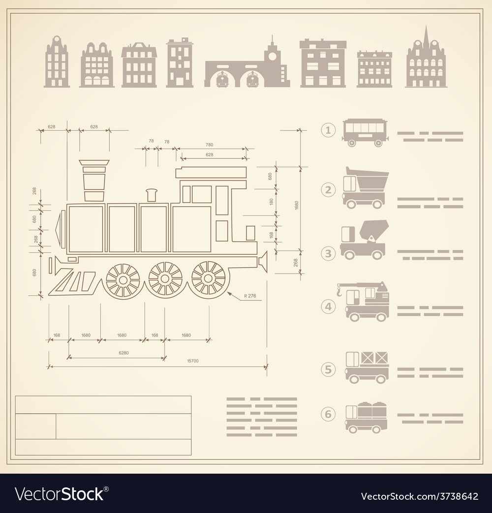 Locomotive engineers vector | Price: 1 Credit (USD $1)
