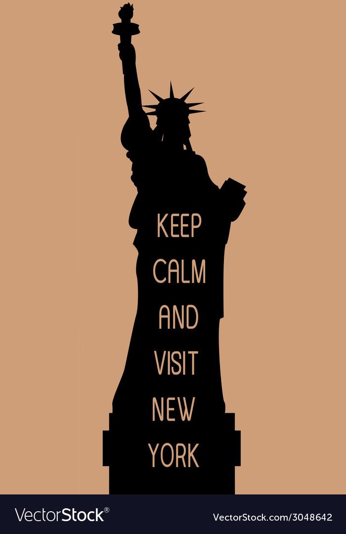New york travel card vector | Price: 1 Credit (USD $1)
