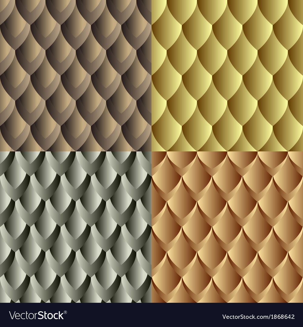 Seamles dragon skin pattern vector | Price: 1 Credit (USD $1)