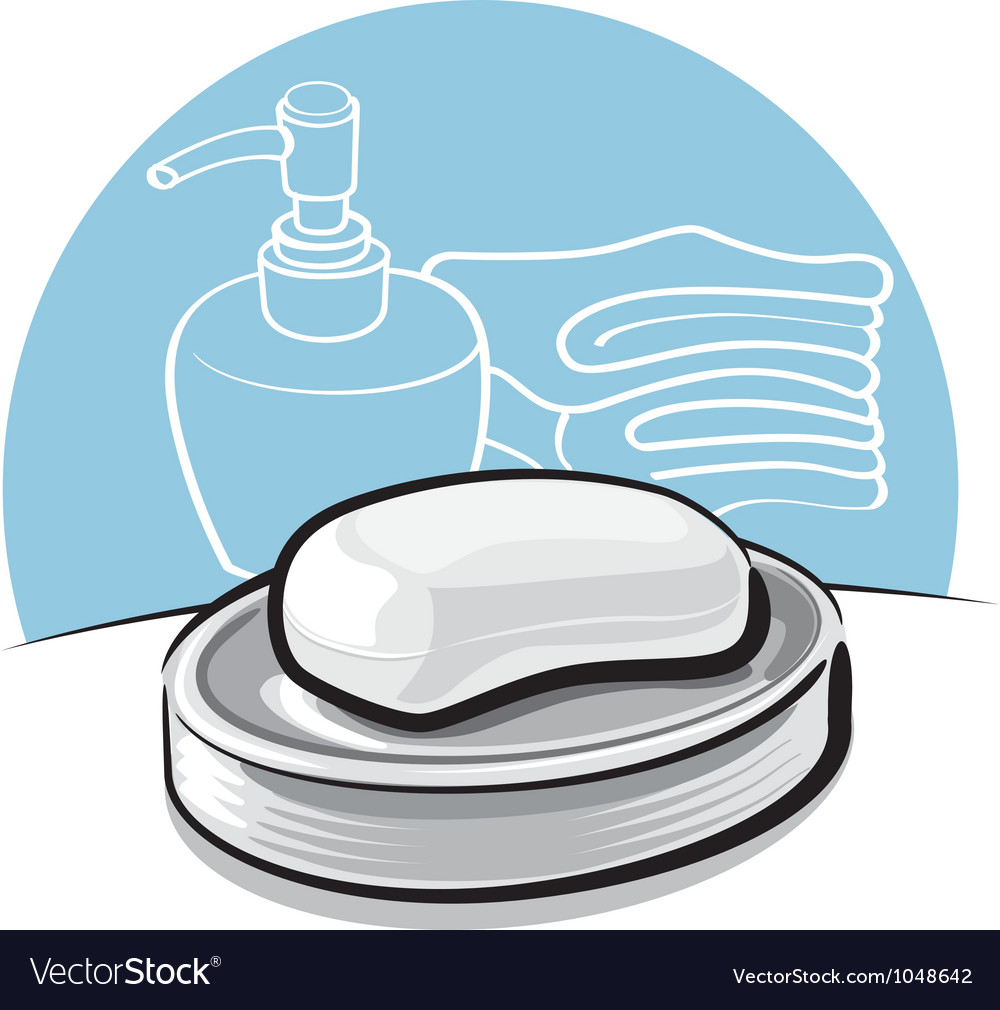Soap vector | Price: 1 Credit (USD $1)