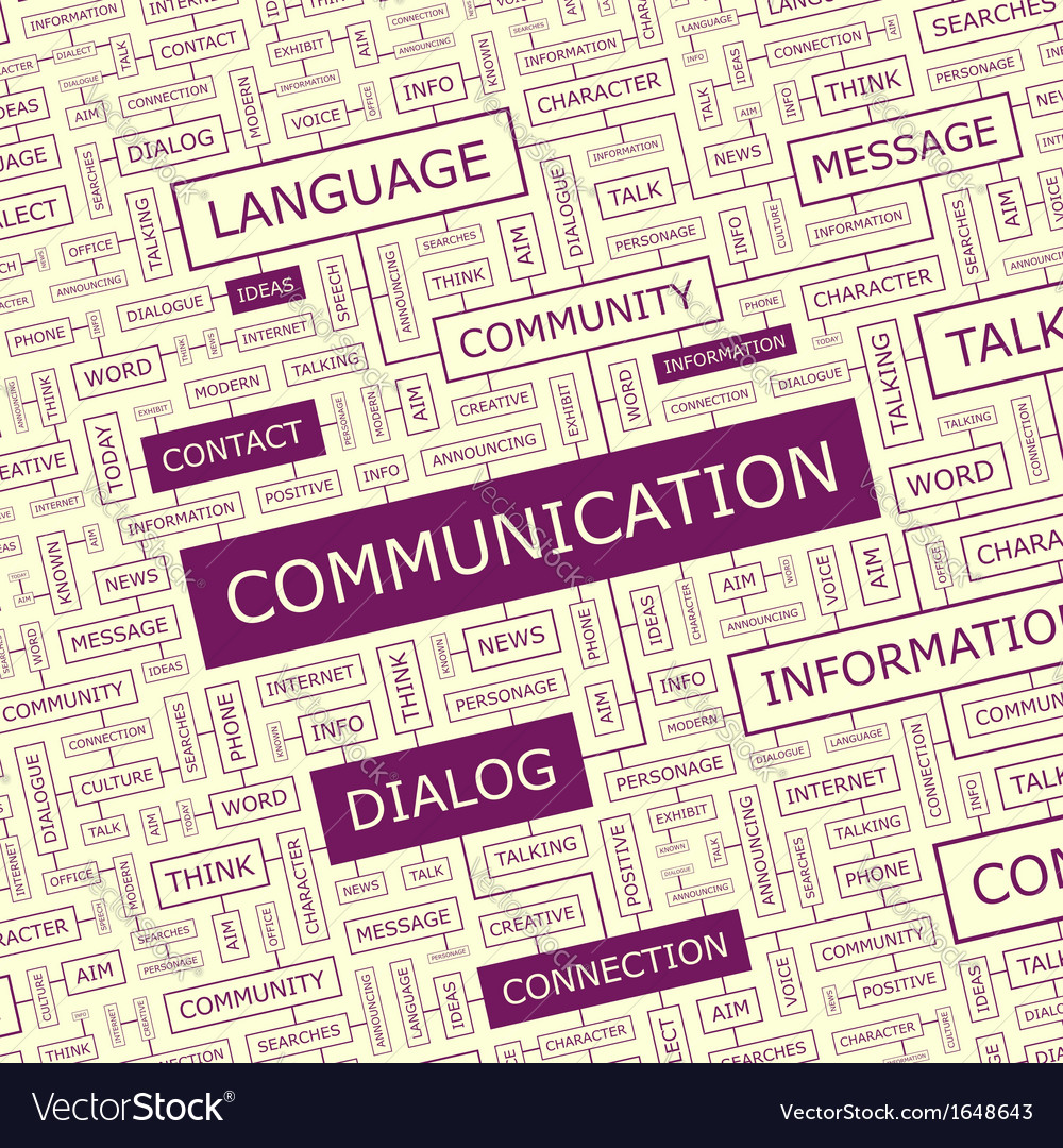 Communication vector | Price: 1 Credit (USD $1)