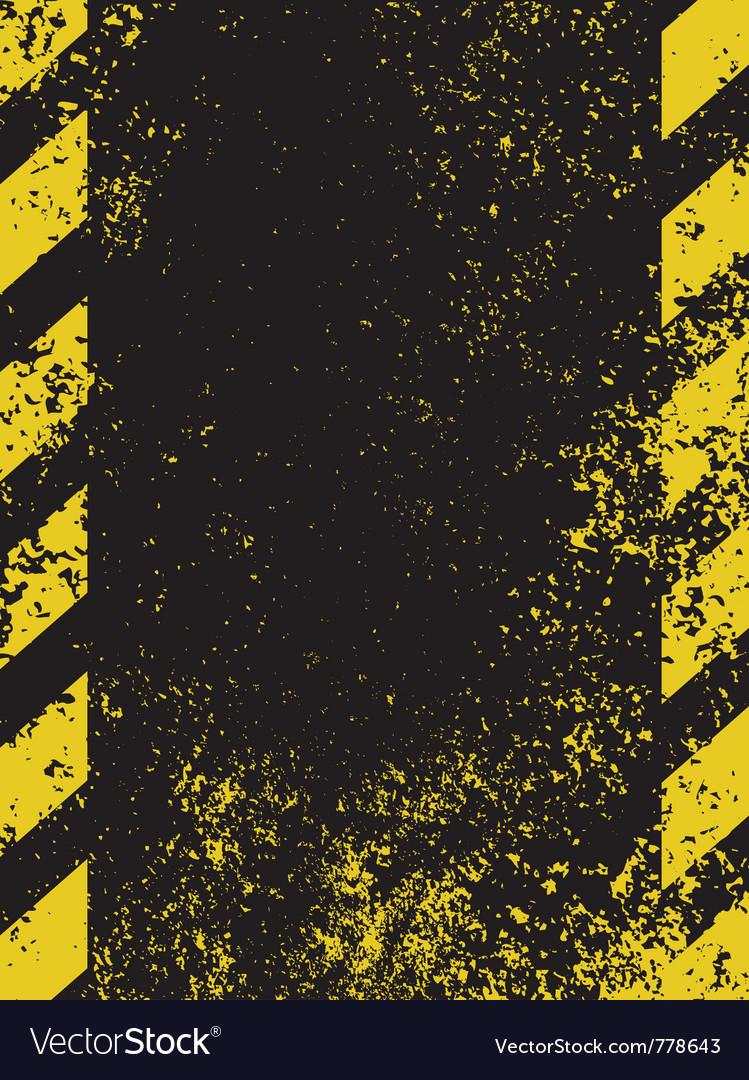 Grungy hazard vector | Price: 1 Credit (USD $1)