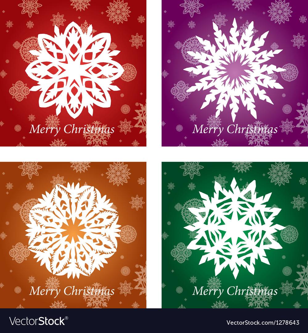 Openwork handmade snowflake vector | Price: 1 Credit (USD $1)