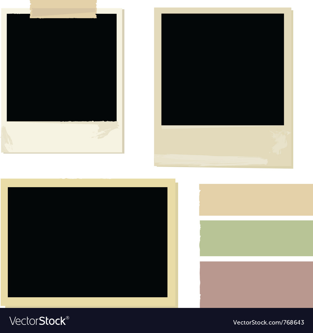 Photo set vector | Price: 1 Credit (USD $1)