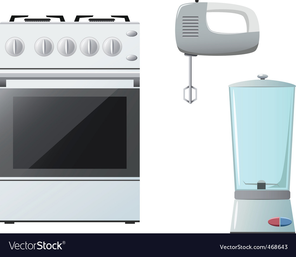 Set of kitchenware vector | Price: 1 Credit (USD $1)