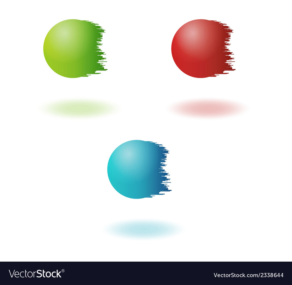 Jagged balls vector | Price: 1 Credit (USD $1)
