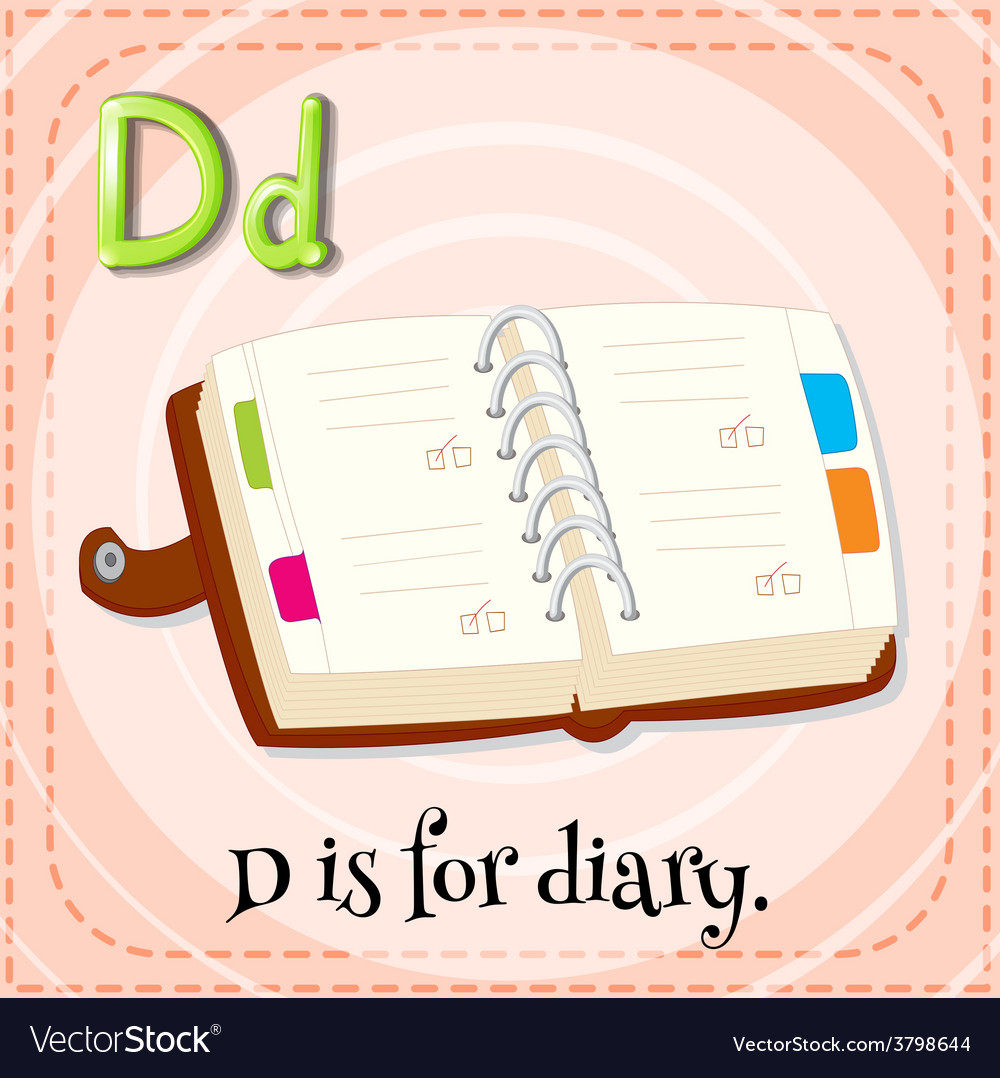 Letter d vector | Price: 1 Credit (USD $1)