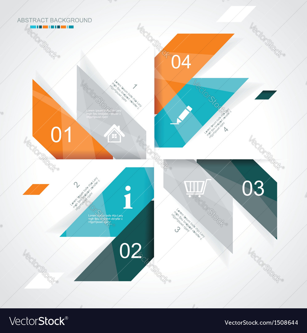 Modern infographics template style vector | Price: 1 Credit (USD $1)