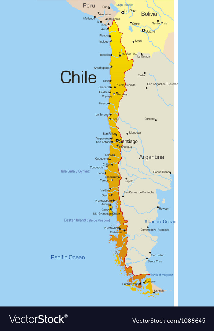 Chile vector | Price: 1 Credit (USD $1)