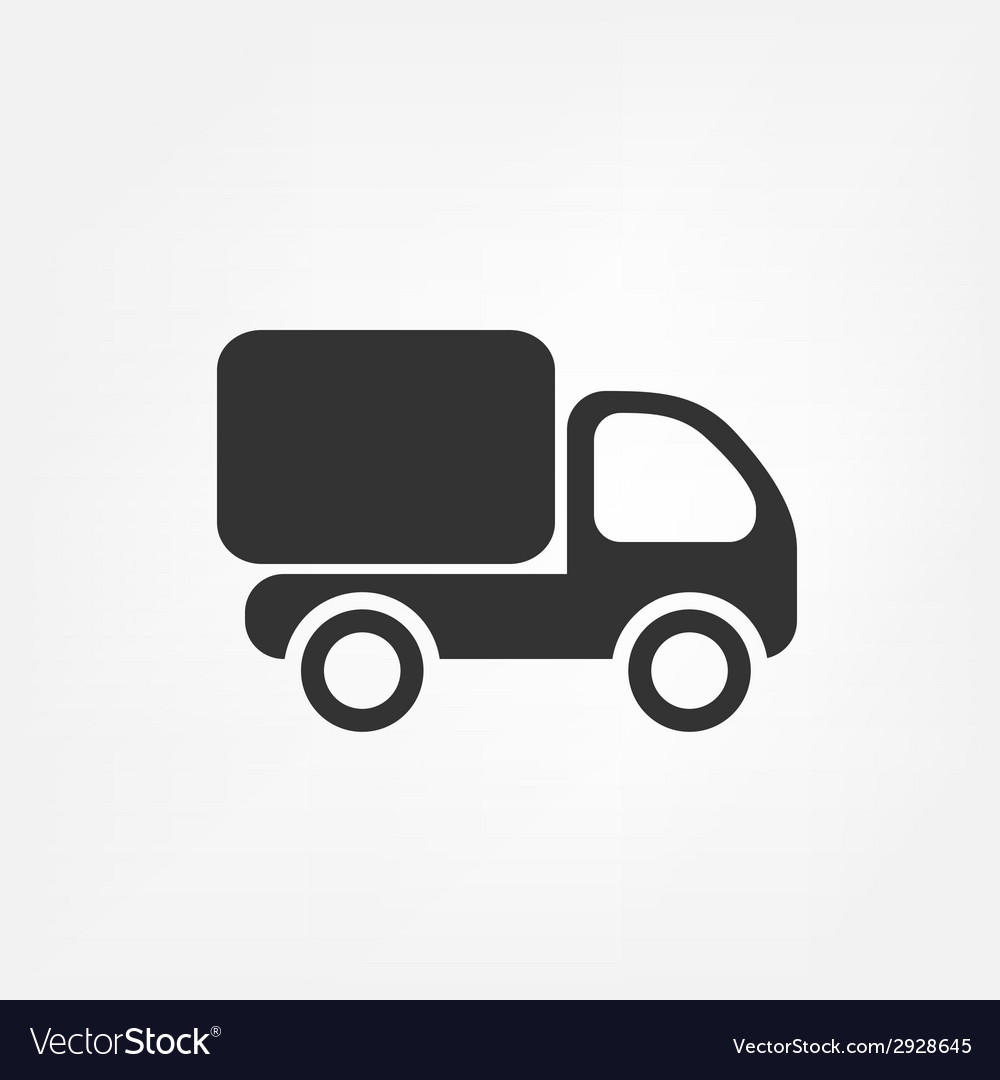 Delivery truck vector | Price: 1 Credit (USD $1)