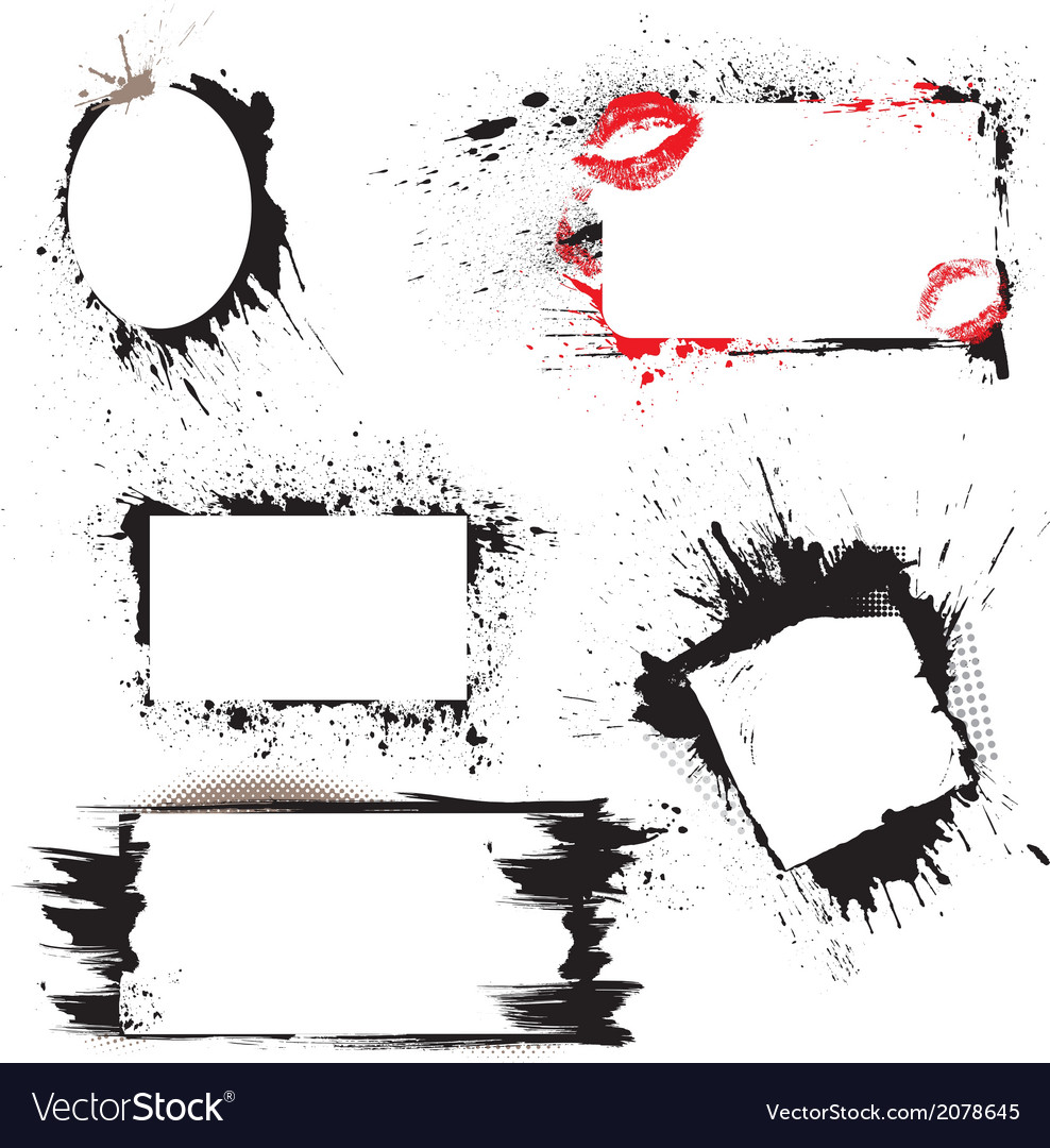 Frames grunge 380 vector | Price: 1 Credit (USD $1)