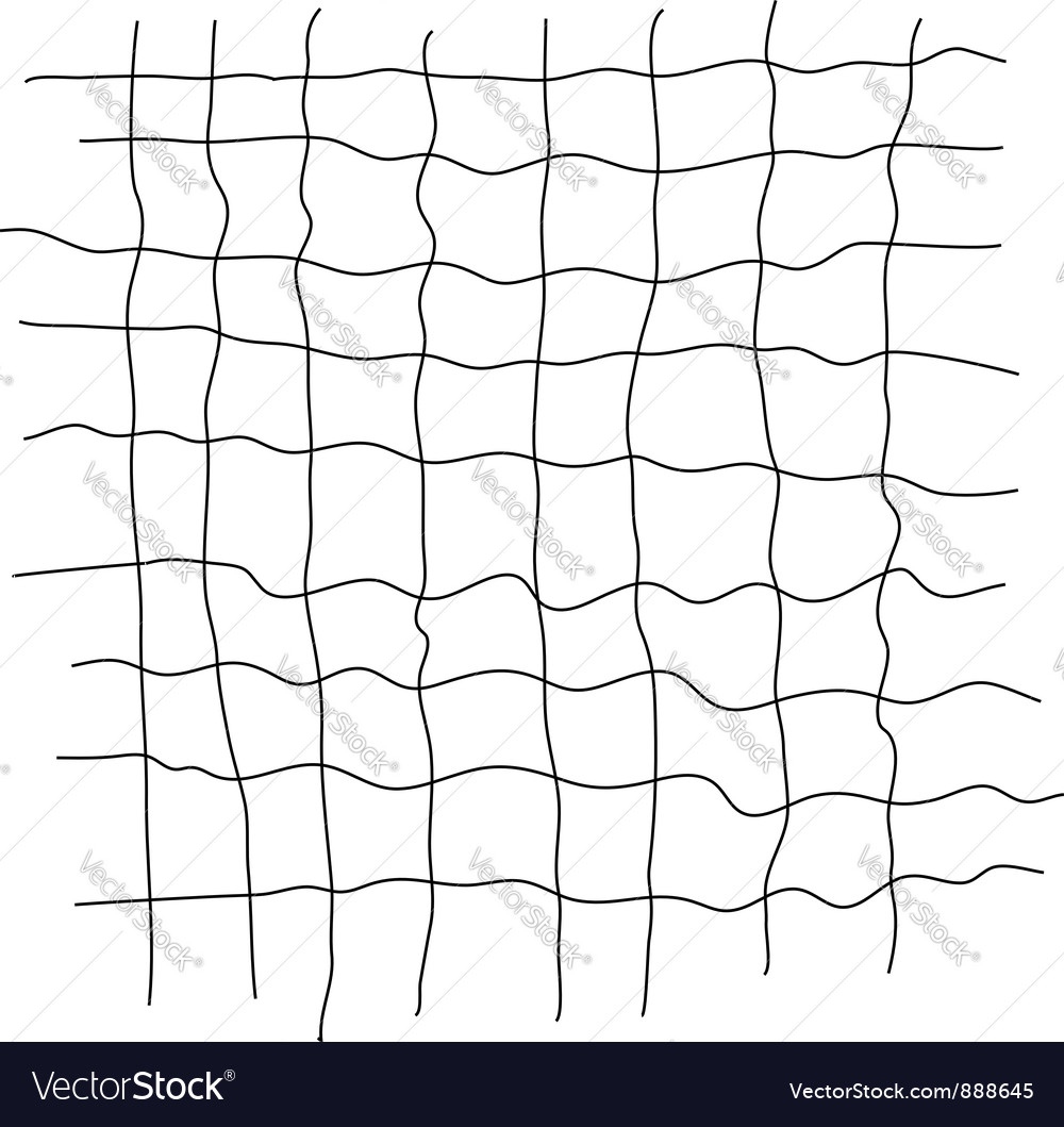 Grid scribble vector | Price: 1 Credit (USD $1)