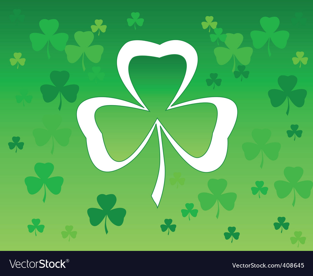 Leaf clover vector | Price: 1 Credit (USD $1)