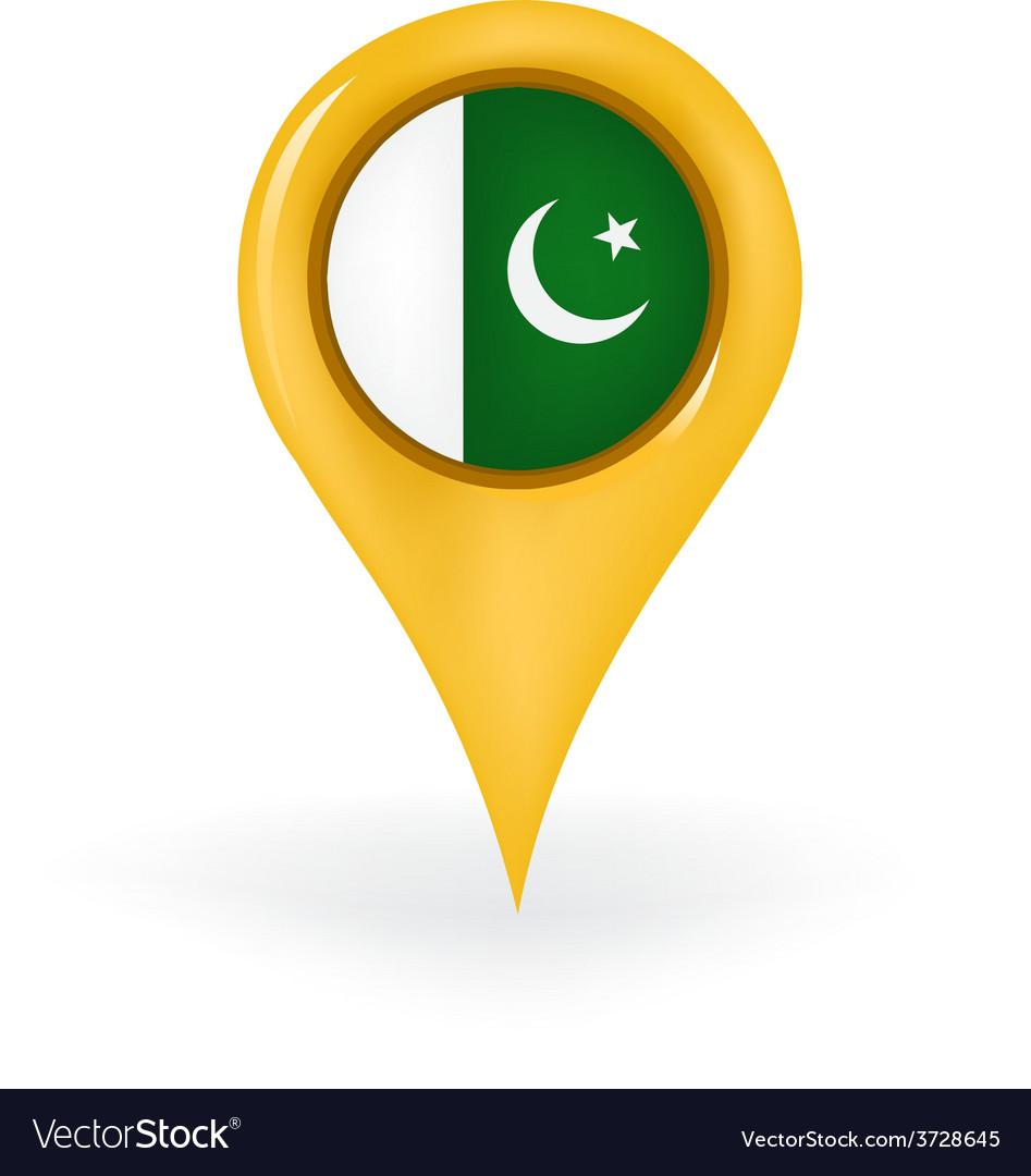 Location pakistan vector | Price: 1 Credit (USD $1)