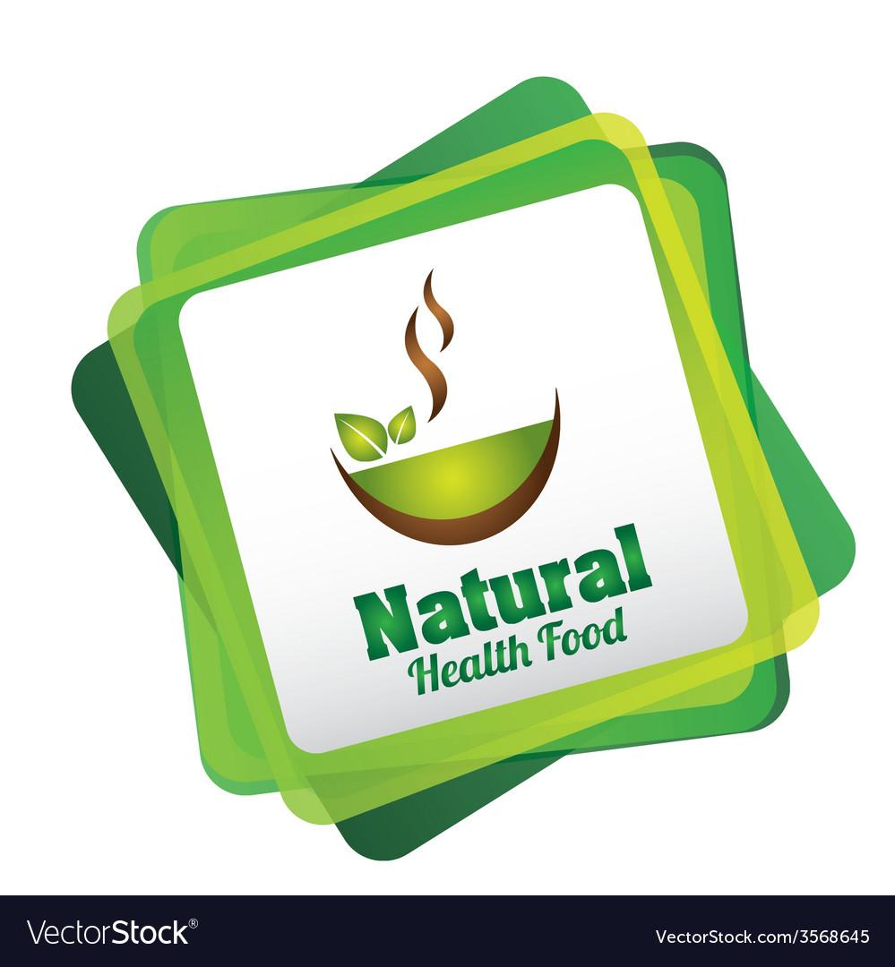 Natural food vector | Price: 1 Credit (USD $1)