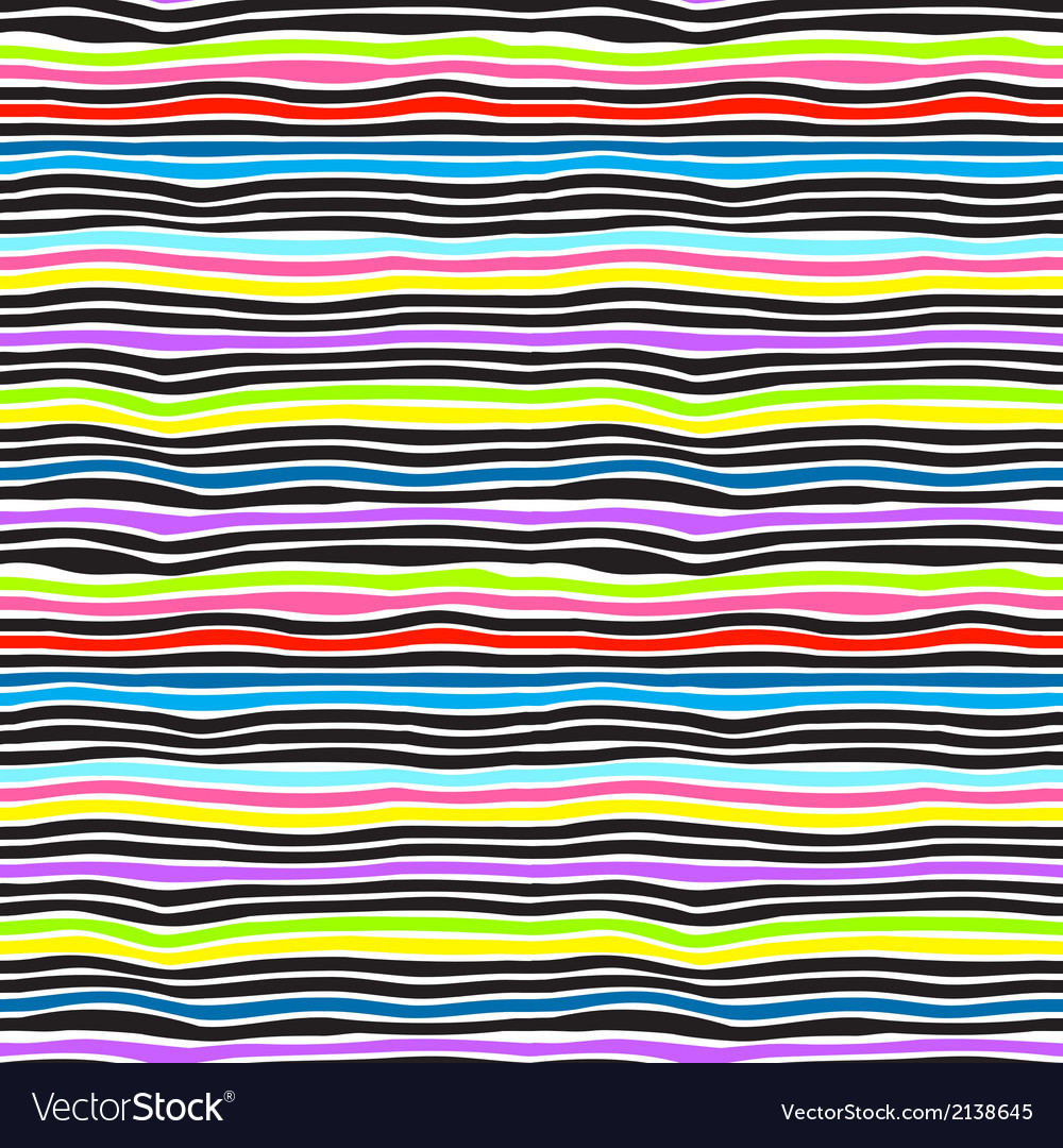 Seamless color stripes background vector | Price: 1 Credit (USD $1)
