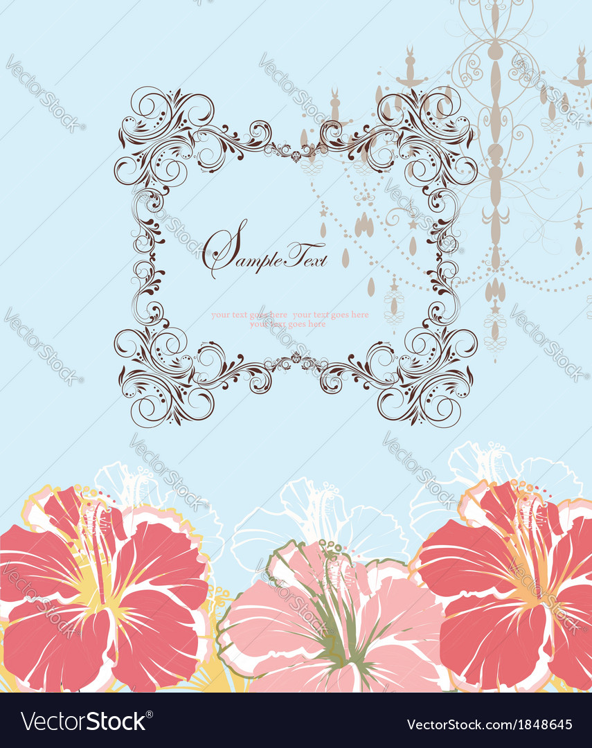 Wedding invitations or announcements vector | Price: 1 Credit (USD $1)