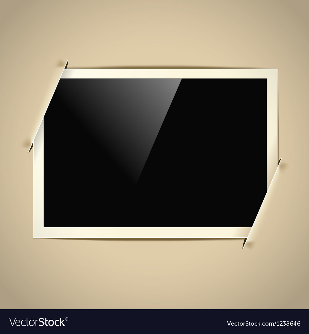 Photoalbum frame vector | Price: 1 Credit (USD $1)