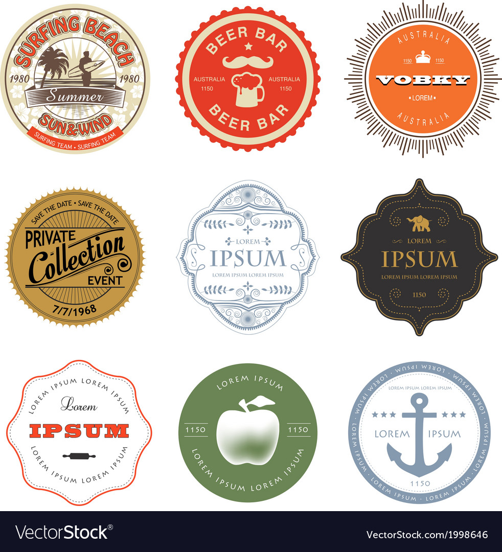 Set-of-labels-vector