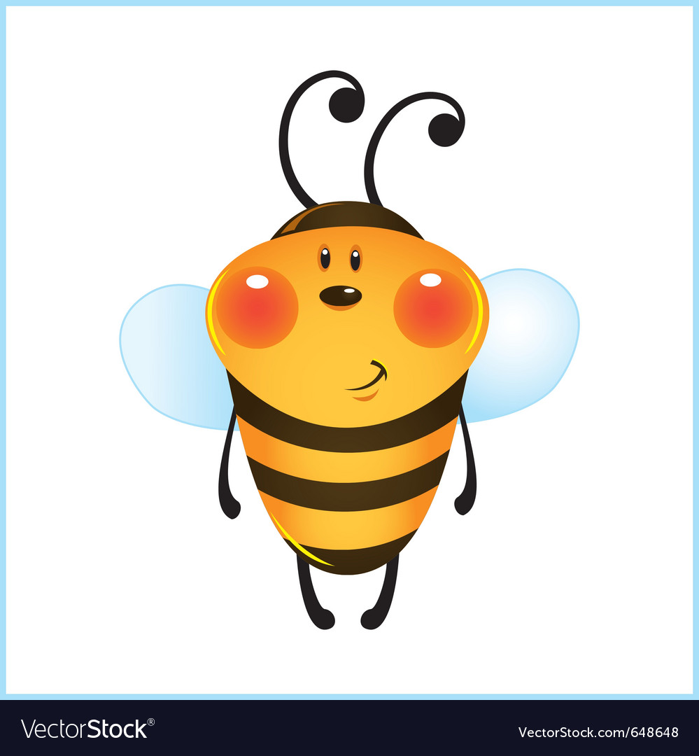Bumble bee vector | Price: 1 Credit (USD $1)