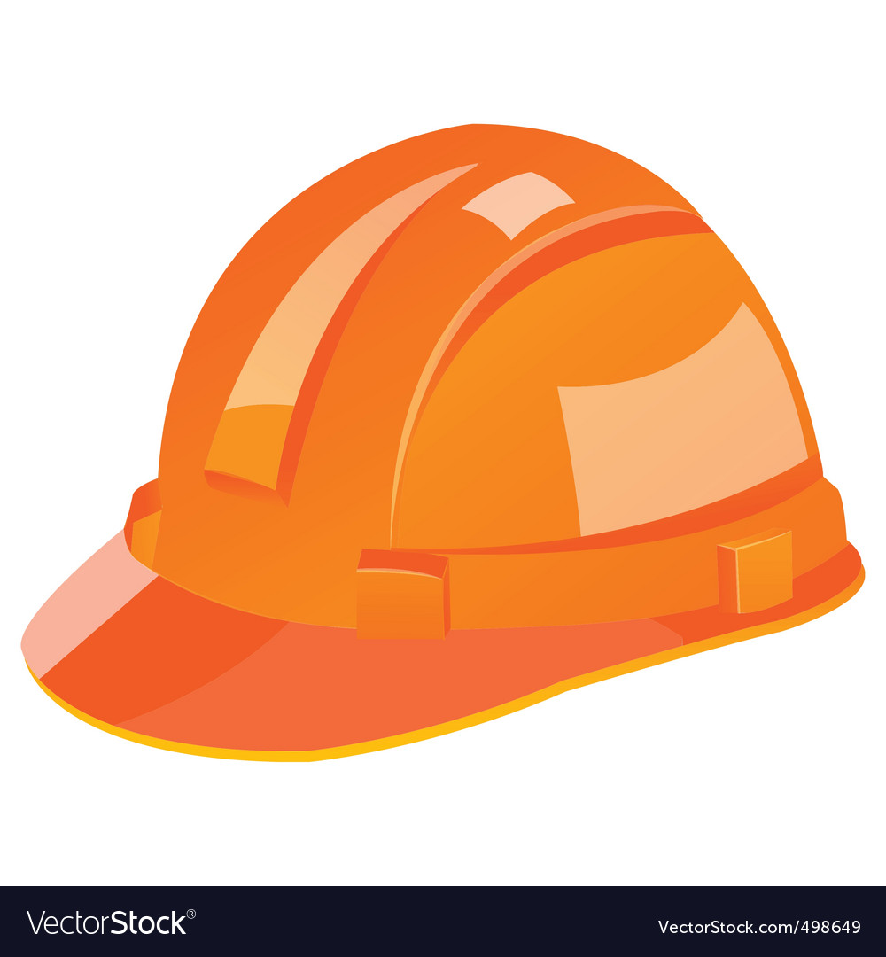 Construction helmet vector | Price: 1 Credit (USD $1)
