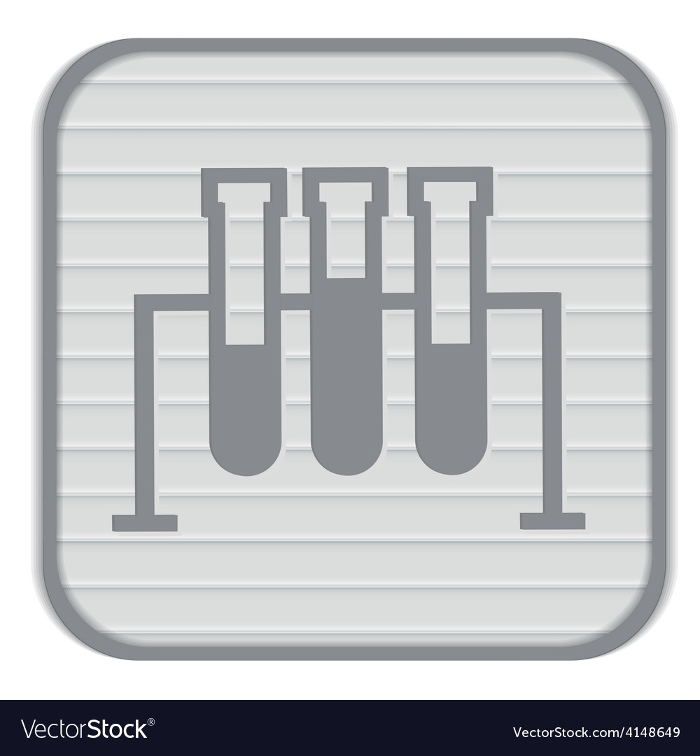 Flask bulb medicine or chemistry vector | Price: 1 Credit (USD $1)