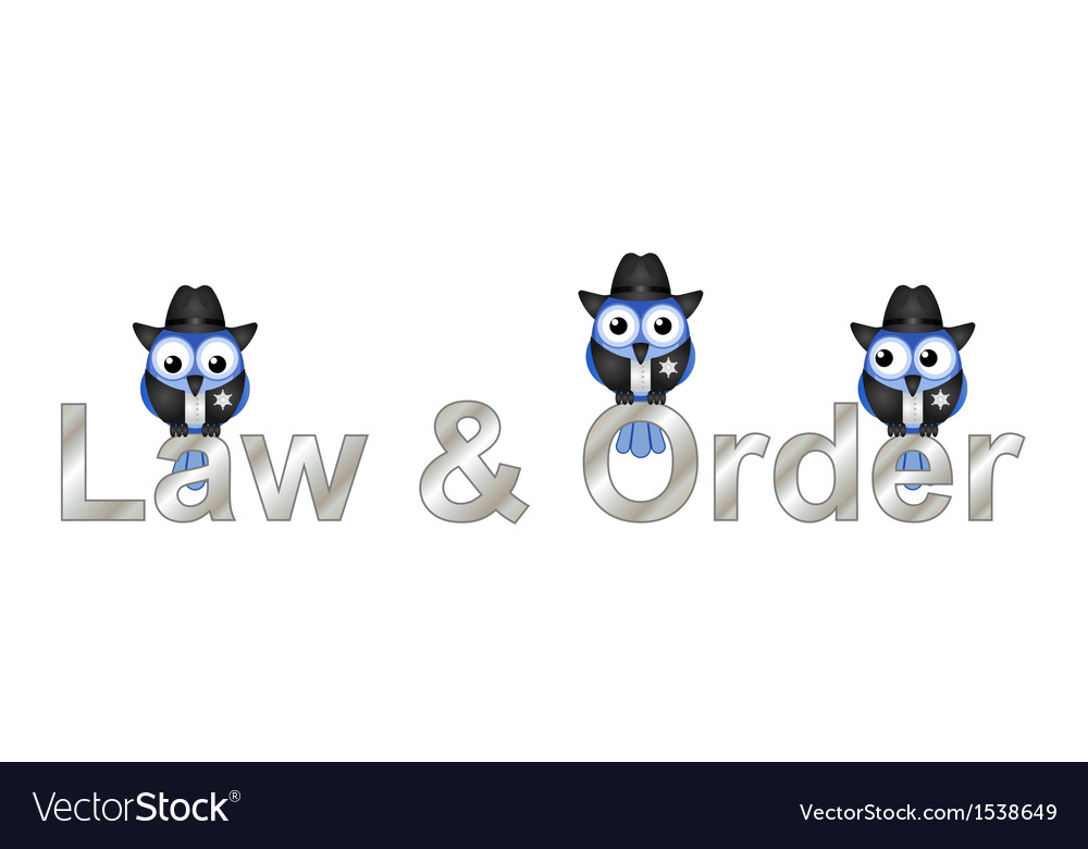 Law and order usa vector | Price: 1 Credit (USD $1)