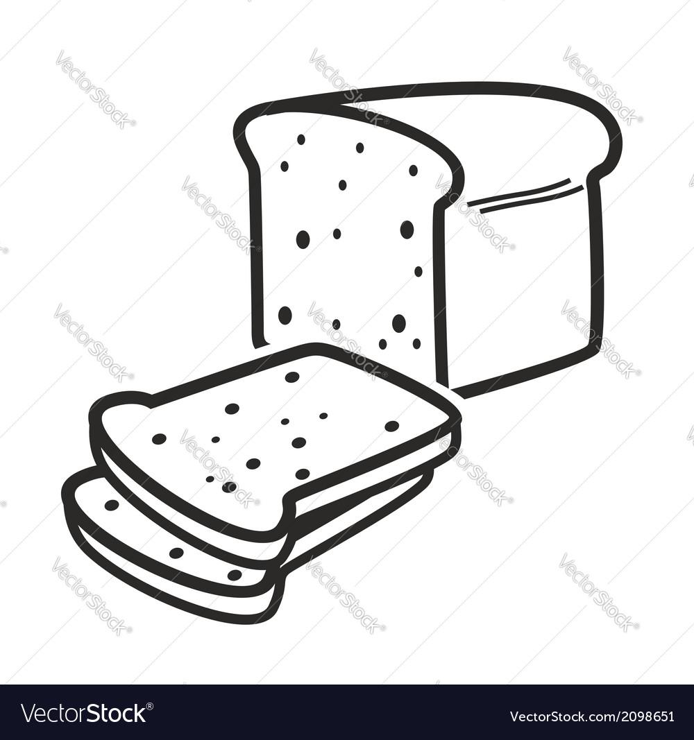 Bread loaf vector | Price: 1 Credit (USD $1)