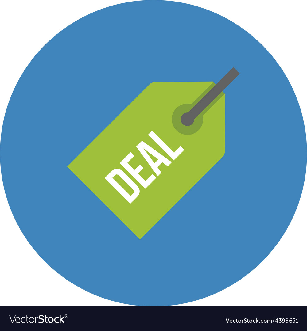 Deal tag vector | Price: 1 Credit (USD $1)