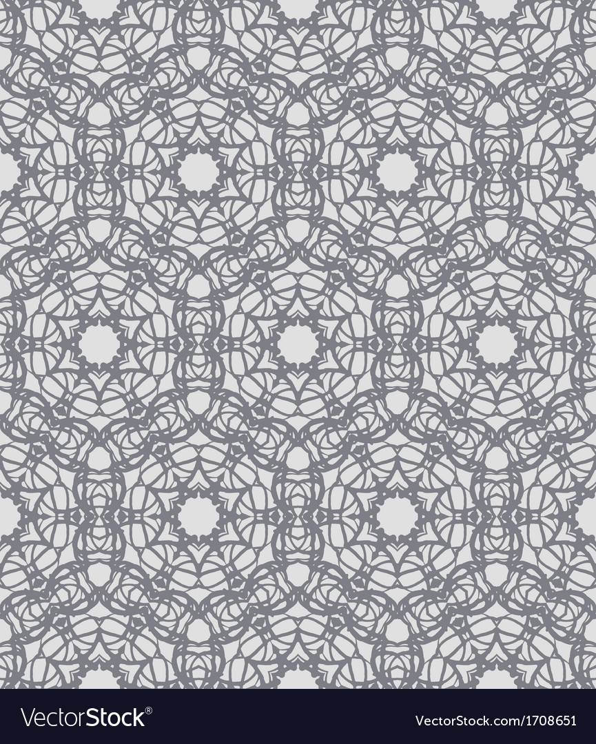 Grey lacing ornamented pattern with swedish motifs vector   Price: 1 Credit (USD $1)