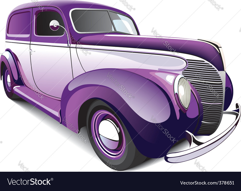 Hot rod coupe vector | Price: 5 Credit (USD $5)