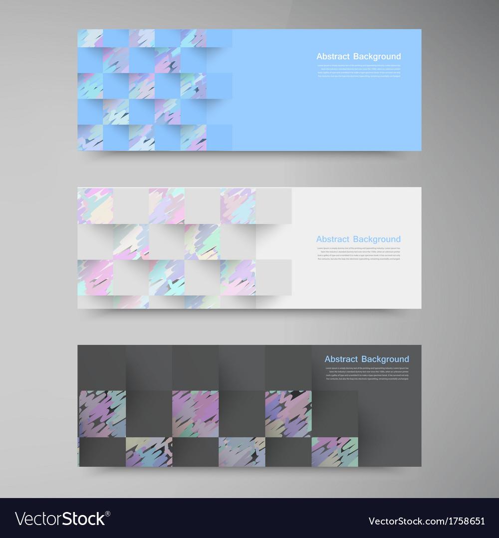 Polygon banner white 80913 vector | Price: 1 Credit (USD $1)